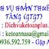Báo giá dịch vụ hoàn Thuế GIÁ TRỊ GIA TĂNG (GTGT)