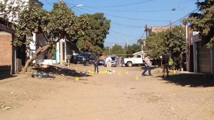 Fotos: Caen abatidos tres hombres tras ser rafagueados en Culiacán