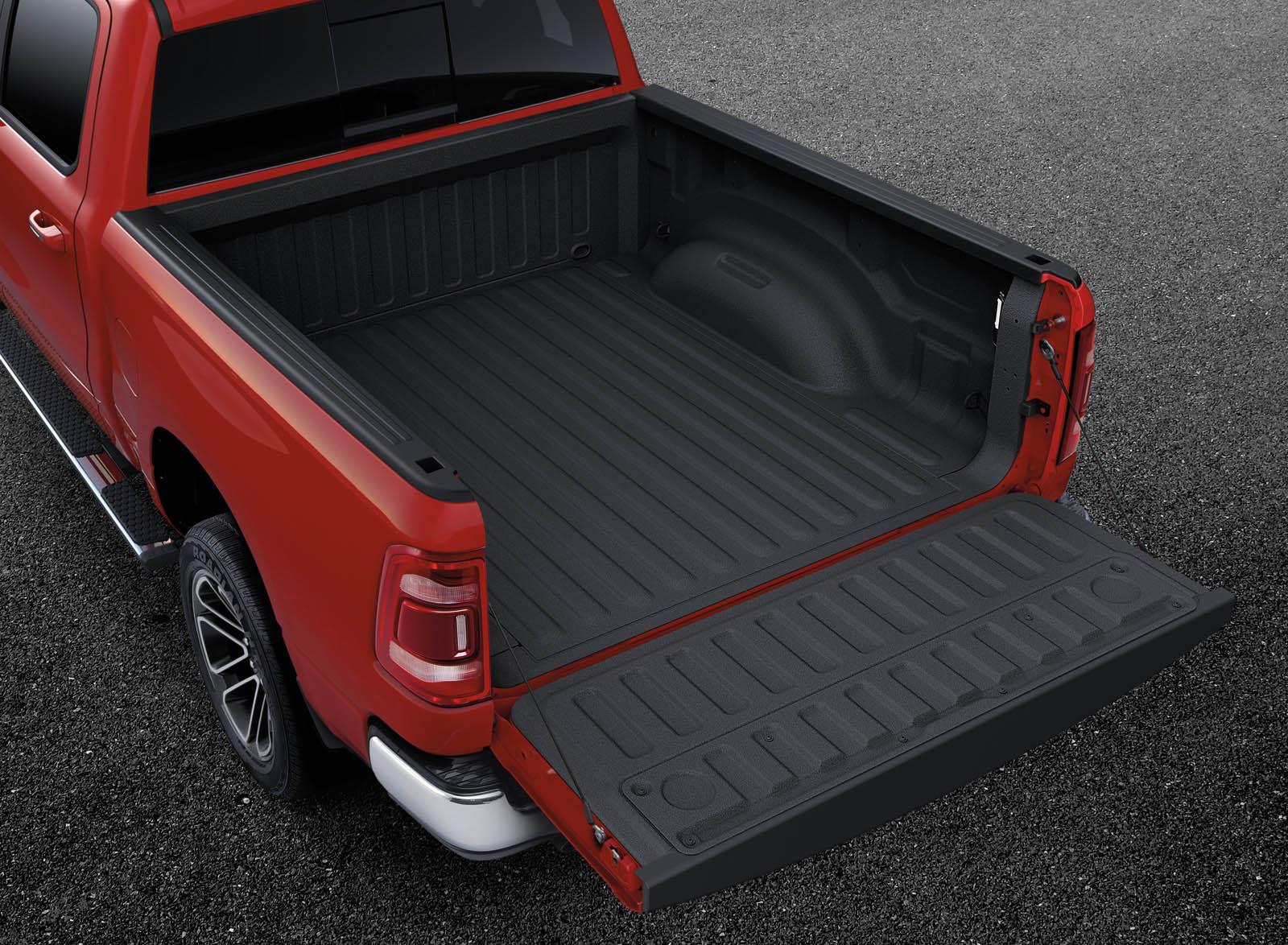Tonneau Cover Dodge Ram 1500 >> 2019 Ram 1500 Looks Boss All Mopar'd Out In Patriot Blue ...