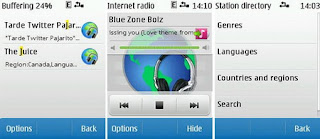 Nokia Internet Radio for Symbian S40 released