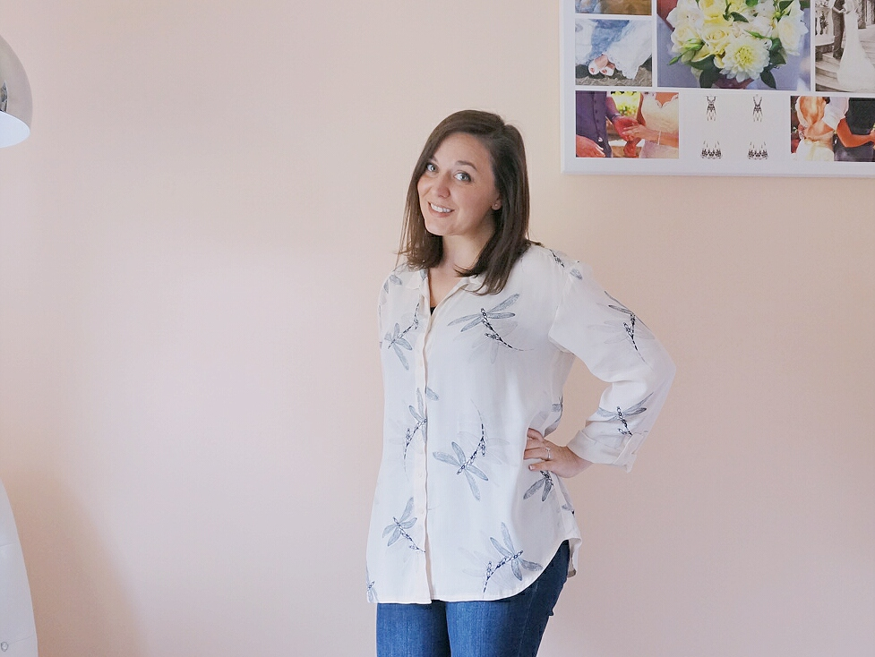 Alex Shirt from Sew Over It My Capsule Wardrobe: City Break eBook