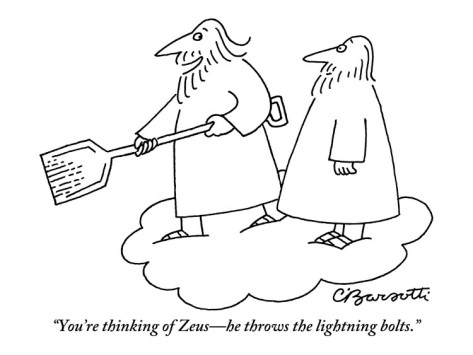 Attempted Bloggery: Charles Barsotti Up in the Clouds