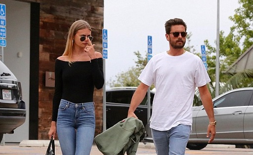 Scott Disick Pictured With Rumoured Girlfriend Again Even After Inviting Strange Lady Into His Hotel Room