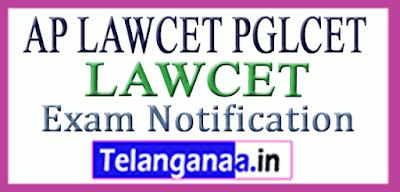AP LAWCET PGLCET Entrance Exam Notification