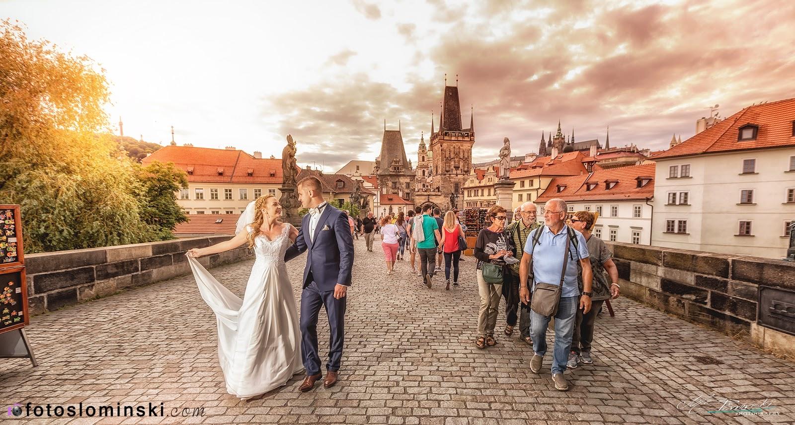 Praga to idealne miejsce na sesje ślubne - #ZdjęciaSłomińskiego - Fotografia Ślubna.
