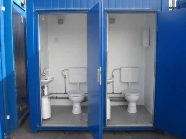 CONTAINER TOILET DI ĐỘNG