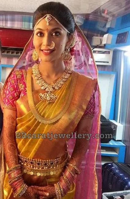 Pranathi Reddy Traditional Jewellery