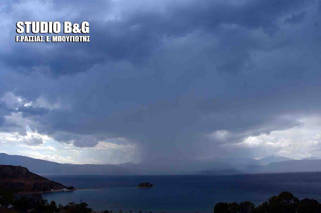 Καιρός: Άστατος με βροχές, καταιγίδες και χαλαζοπτώσεις