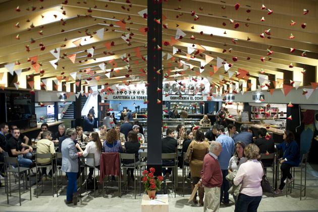 La chisperia el nuevo espacio gastronomico del mercado de chamberi