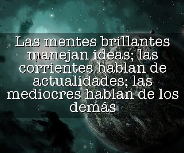 Las mentes brillantes