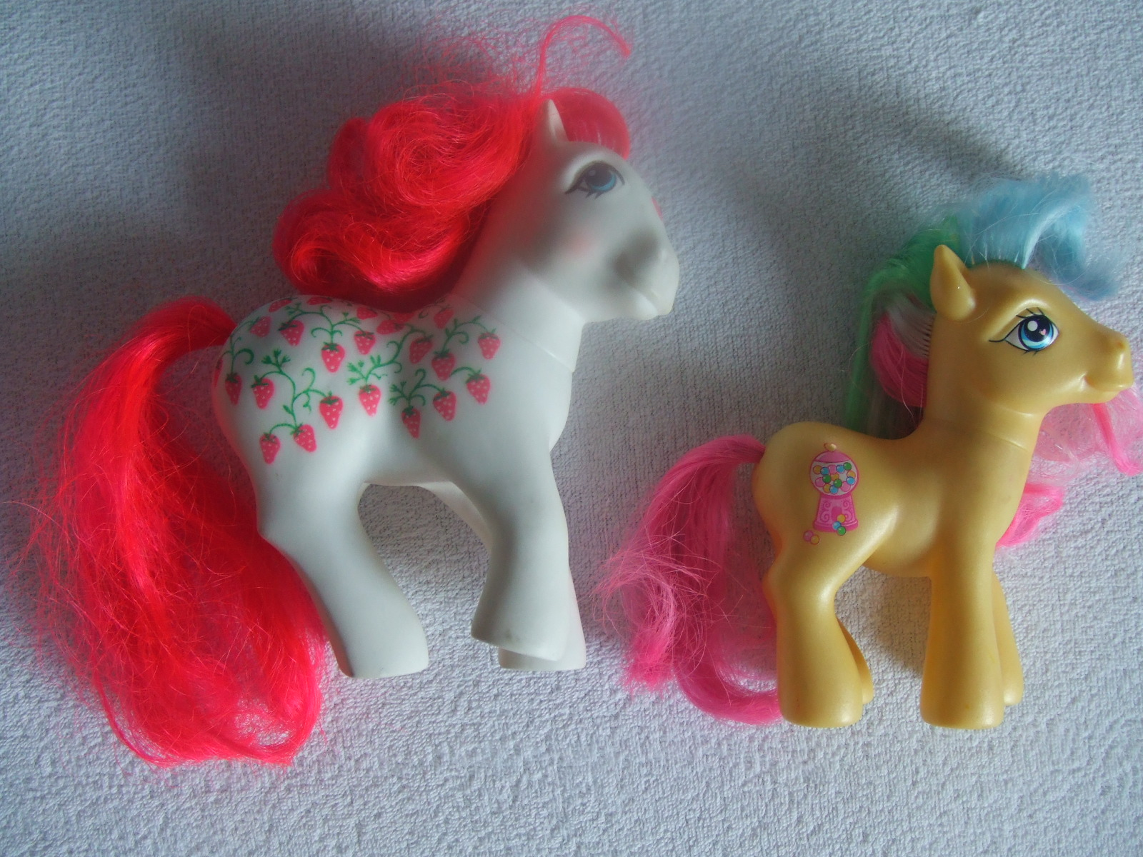 to the winchester flea market find my little pony g1 and g3