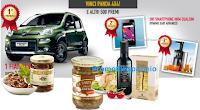 Logo Con Giordano Vini: in omaggio set 12 piatti in porcellana e vinci Fiat Panda e altri 500 Premi !