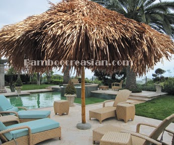 Quality Bamboo and Asian Thatch: Build thatch umbrellas ...