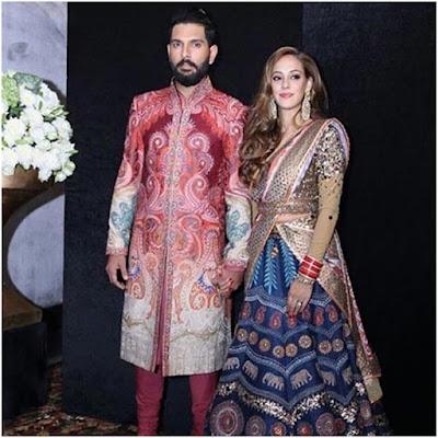 Yuvraj-Hazel Wedding