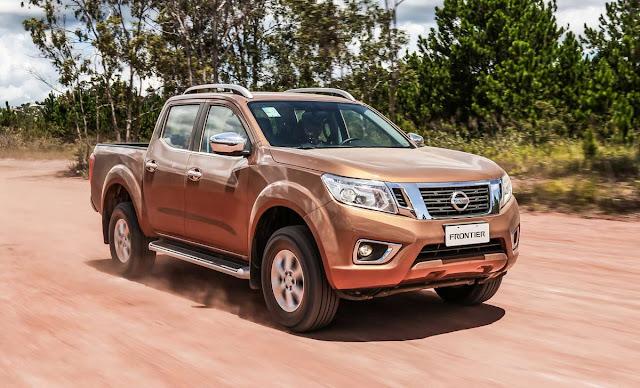 Nissan Frontier é convocada para recall por defeito na direção