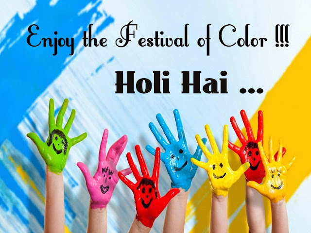 enjoy holi festival