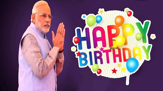PM Narendra Modi Birthday Wishes Pics