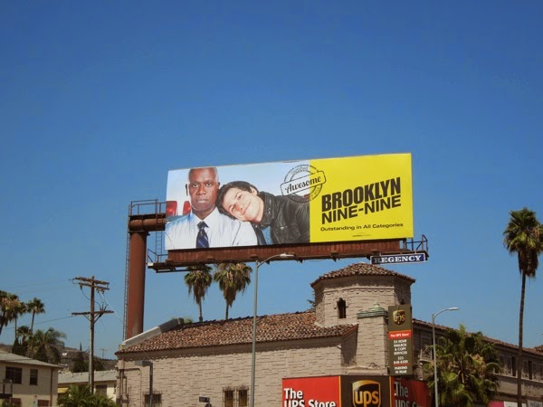 Brooklyn Nine-Nine Emmy 2014 billboard