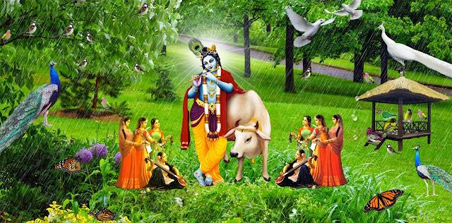 Latest Lord Krishna  Wallpaper For Your Mobile & Desktop