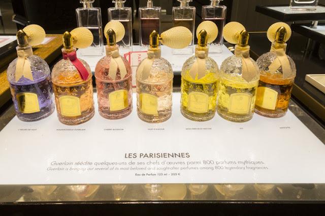 Comprar perfumes nas Galeries Lafayette em Paris