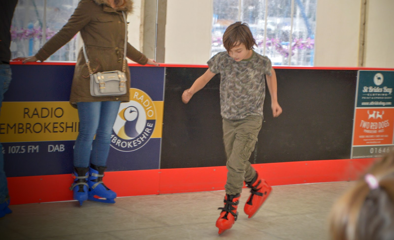 , Winter Holidays: Teach Your Kids to Ice Skate