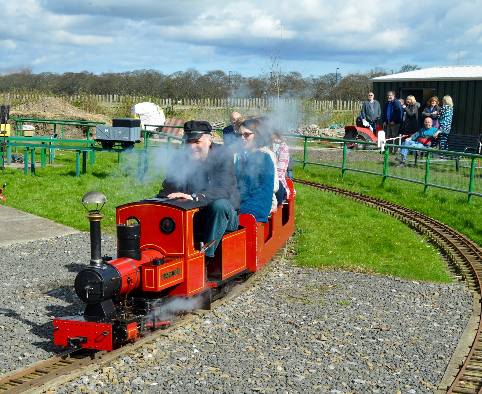 Exhibition Park Newcastle |  Steam train by Wylam Brewery