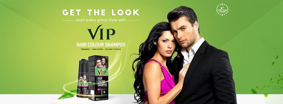 Vip Hair Colour Shampoo Vip Hair Colour Shampoo In India Best Review