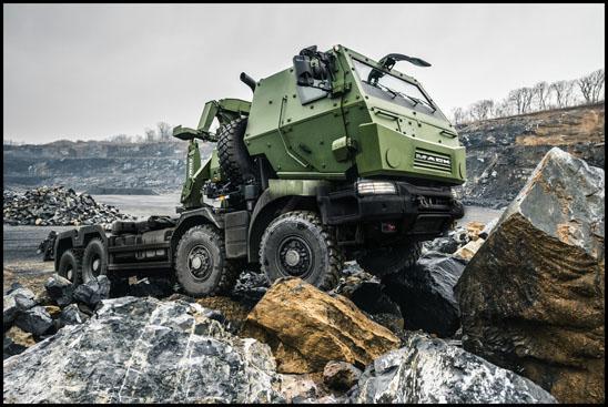 Mack Medium Support Vehicle System