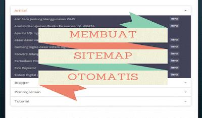 cara menciptakan sitemap otomatis dan responsive di blog Cara Membuat Sitemap Otomatis dan Responsive Di Blog