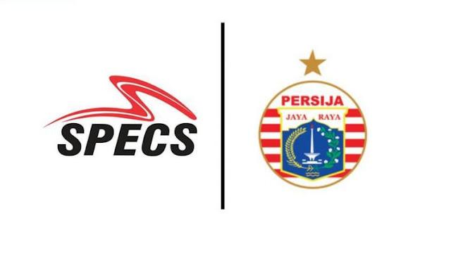 Persija Jakarta bekerja sama dengan Specs