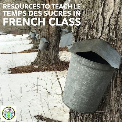 Resources to Teach Le Temps des Sucres in French Class