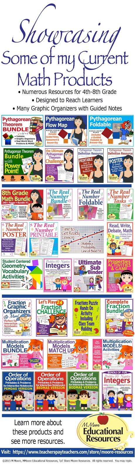 https://www.teacherspayteachers.com/Store/Moore-Resources