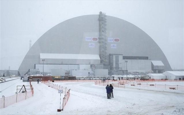 Ολοκληρώθηκε ο θόλος που θα «προστατεύει» το Τσέρνομπιλ για έναν αιώνα