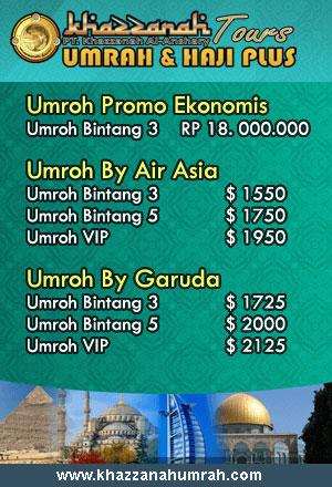 Biaya Umroh 2017 Paket Hemat