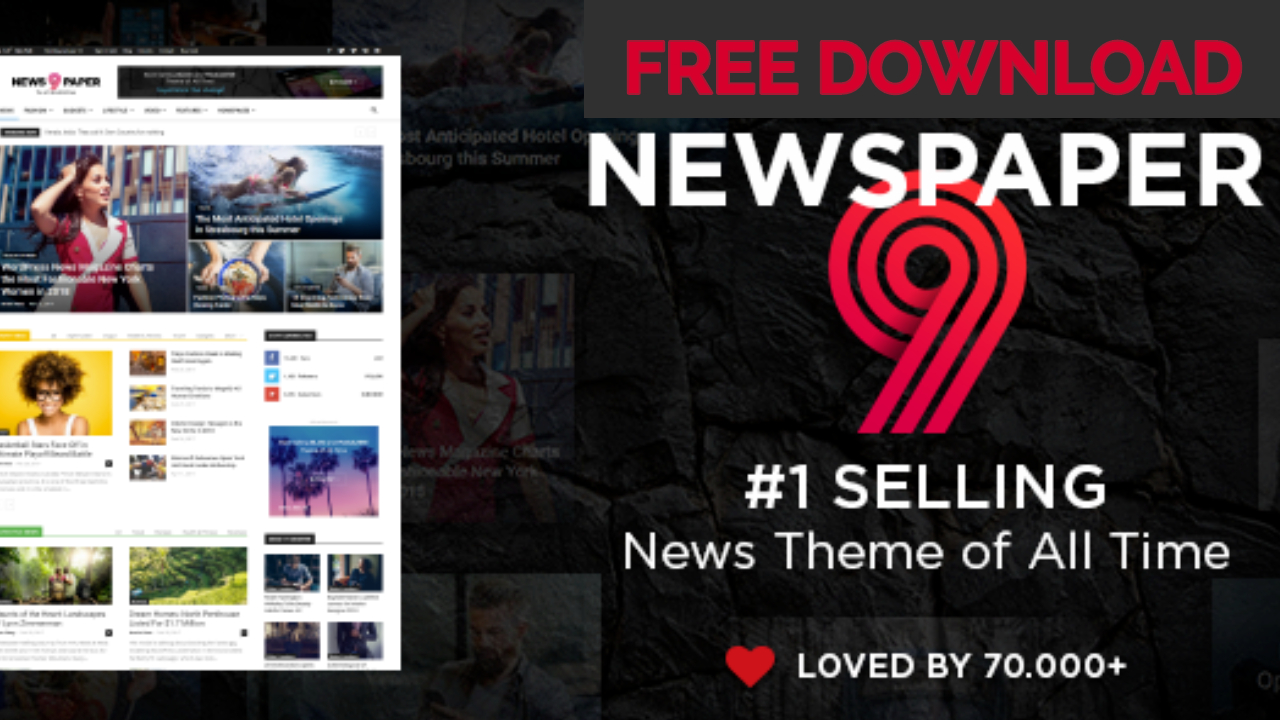 Newspaper Theme v9.2.2 Free Download Not Nulled