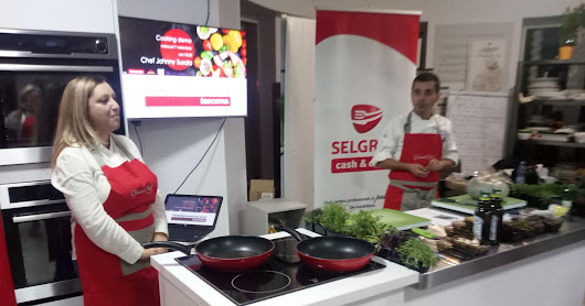 Demo Cooking la Horeca school,