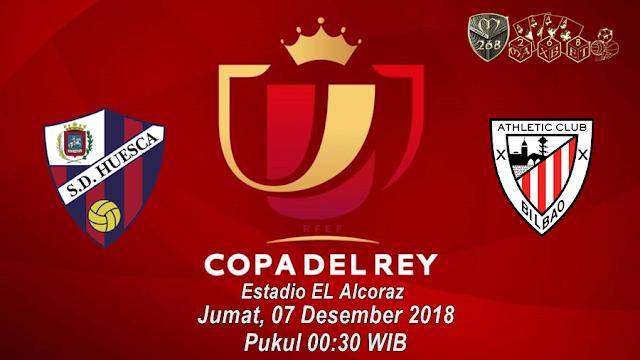 Prediksi SD Huesca Vs Athletic Bilbao, Jumat 07 Desember 2018 Pukul 00.30 WIB