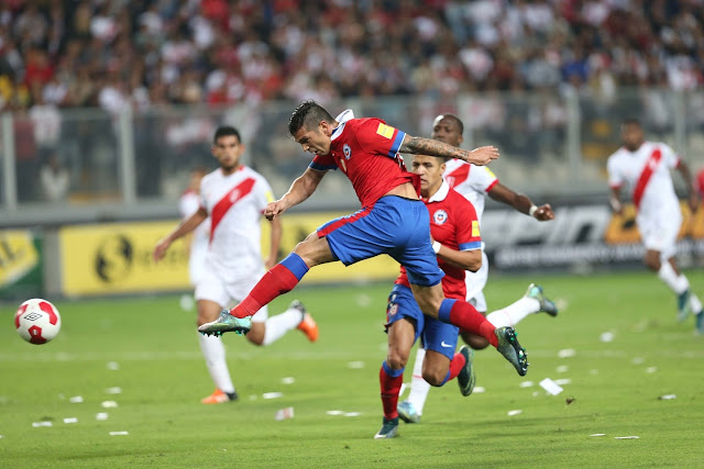 Perú y Chile en Clasificatorias a Rusia 2018, 13 de octubre de 2015