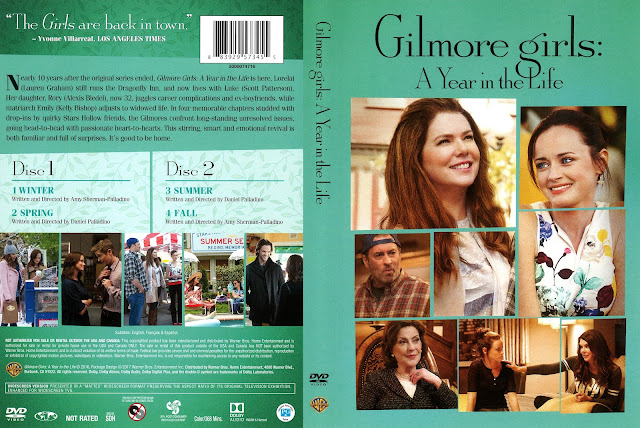 Gilmore Girls: A Year in the Live DVD Cover