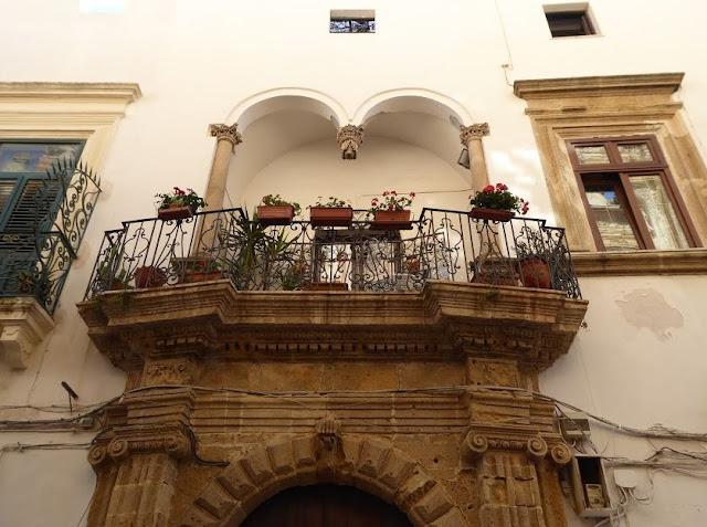 Balcone centro storico Gallipoli