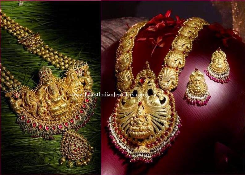 Grand Temple Jewellery Haram Designs