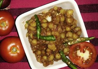 Chatpate Matar recipe (Kulche wale matar)   How to prepare Chatpate Matar?