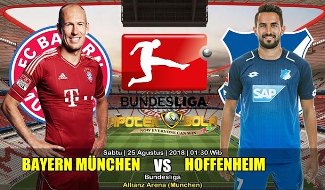 Prediksi Bayern Munchen Vs Hoffenheim 25 Agustus 2018