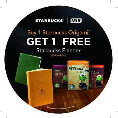 Buy Starbucks Origami Free Starbucks Planner