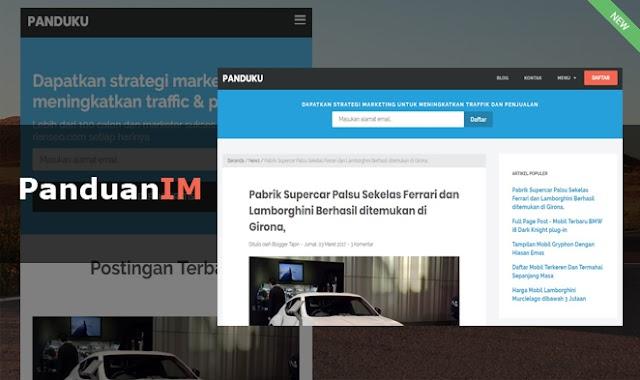 PanduanIM Blogger Style