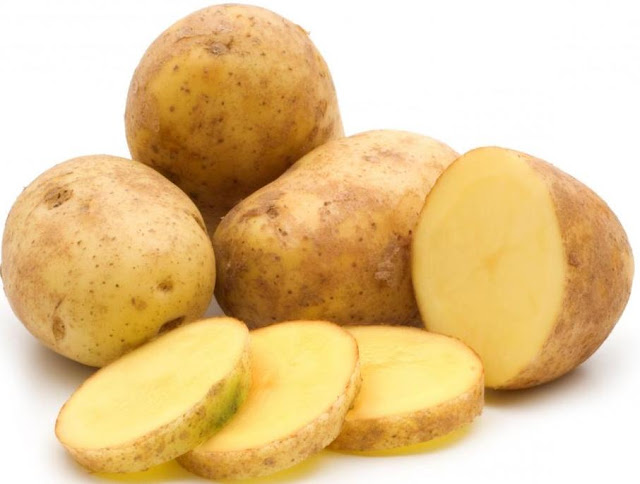 Potato contains about 900 milligrams of potassium