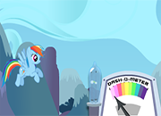 Rainbow Dash Rainboom Game