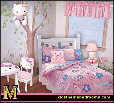 Decorating theme bedrooms - Maries Manor: hello kitty bedding