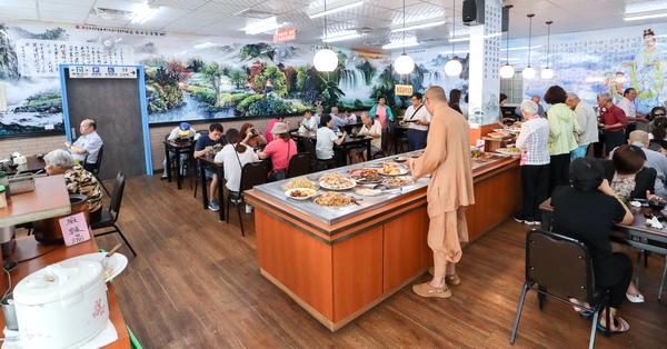 南投草屯玉善房新時代全素自助餐|129元素食吃到飽餐廳超划算