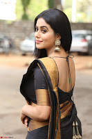Poorna in Cute Backless Choli Saree Stunning Beauty at Avantika Movie platinum Disc Function ~  Exclusive 038.JPG